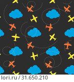 Vector cloud set. Стоковая иллюстрация, иллюстратор Альдана Прокофьева / Фотобанк Лори