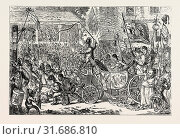 THE MIDDLESEX ELECTION, SCENE AT THE BRENTFORD HUSTINGS: PROCTOR AND GLYNN, 1768 (2012 год). Редакционное фото, фотограф Artokoloro / age Fotostock / Фотобанк Лори
