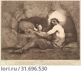 Купить «The Captive (Sterne's Sentimental Journey), November 1, 1781, Etching, Sheet: 12 3/16 x 15 1/16 in. (30.9 x 38.2 cm), Prints, After John Hamilton Mortimer (British, Eastbourne 1740–1779 London)», фото № 31696530, снято 27 апреля 2017 г. (c) age Fotostock / Фотобанк Лори