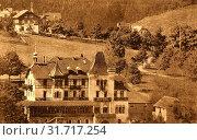 Hotels in Landkreis Sächsische Schweiz-Osterzgebirge, Bärenfels, 1920, Landkreis Sächsische Schweiz-Osterzgebirge, Hotel Kaiserhof, Germany (2019 год). Редакционное фото, фотограф Copyright Liszt Collection / age Fotostock / Фотобанк Лори