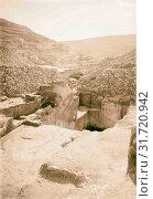 Купить «Excavations on Ophel Rock-cuttings 1900, Jerusalem, Israel», фото № 31720942, снято 29 июня 2018 г. (c) age Fotostock / Фотобанк Лори
