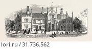 Купить «OPENING OF THE BOOKSELLERS' PROVIDENT RETREAT, AT ABBOTS LANGLEY, 1846», фото № 31736562, снято 20 июня 2012 г. (c) age Fotostock / Фотобанк Лори