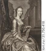 Portrait of Anna Maria Falkner, Andreas van der Myn, 1724 - 1800 (2014 год). Редакционное фото, фотограф Artokoloro / age Fotostock / Фотобанк Лори