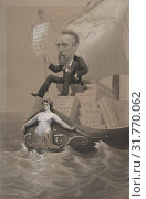 Купить «Samuel P. Avery Transporting His Treasures Across the Sea, ca. 1875–80, Graphite, ink and gouache on gray paper, sheet: 16 1/8 x 10 1/2 in. (40.9 x 26...», фото № 31770062, снято 26 апреля 2017 г. (c) age Fotostock / Фотобанк Лори