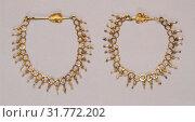 Купить «Chain, Roman Empire, 250 - 400, Gold, 23 cm (9 1,16 in.)», фото № 31772202, снято 7 сентября 2018 г. (c) age Fotostock / Фотобанк Лори