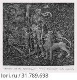 Купить «Labors of Hercules (1st): Hercules chokes the Nemean lion», фото № 31789698, снято 17 октября 2018 г. (c) age Fotostock / Фотобанк Лори