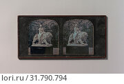 [Stereograph, Crystal Palace, John Bell's Una and the Lion], 1854–1862, Daguerreotype, Image: 6.8 x 5.9 cm (2 11/16 x 2 5/16 in.), each, Photographs, London Stereoscopic Company (British) (2017 год). Редакционное фото, фотограф © Copyright Artokoloro Quint Lox Limited / age Fotostock / Фотобанк Лори
