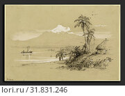 Купить «Frederic Edwin Church (American, 1826 - 1900), Magdalena River, New Granada, Equador, 1853, graphite heightened with white on wove paper», фото № 31831246, снято 6 августа 2013 г. (c) age Fotostock / Фотобанк Лори