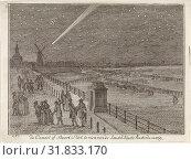 Купить «Comet above Amsterdam, The Netherlands, 1769, The Netherlands, Aert Schouman, 1769», фото № 31833170, снято 28 ноября 2012 г. (c) age Fotostock / Фотобанк Лори