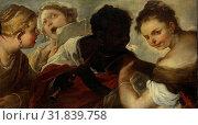Four Female Musicians, Luca Giordano, 1658 - 1660 (2014 год). Редакционное фото, фотограф Artokoloro / age Fotostock / Фотобанк Лори