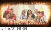 Купить «Old Movie tape video», видеоролик № 31848098, снято 7 декабря 2018 г. (c) Wavebreak Media / Фотобанк Лори