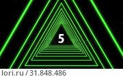 Купить «Animated countdown video», видеоролик № 31848486, снято 11 декабря 2018 г. (c) Wavebreak Media / Фотобанк Лори