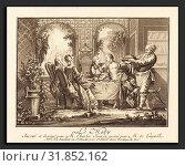 Joseph de Longueil after Charles Eisen (French, 1730 - 1792), Le midi, etching and engraving (2010 год). Редакционное фото, фотограф Artokoloro / age Fotostock / Фотобанк Лори