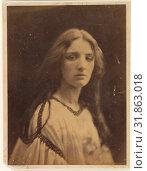[Mary Ryan], 1865–66, Albumen silver print from glass negative, 33.1 x 24.7 cm (13 1/16 x 9 3/4 in. ), Photographs, Julia Margaret Cameron (British ... (2017 год). Редакционное фото, фотограф © Copyright Artokoloro Quint Lox Limited / age Fotostock / Фотобанк Лори
