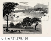 Купить «THE LATE DUKE OF ALBANY, VIEWS OF CANNES: LA BOCCA (LEFT IMAGE), CANNES FROM LA CROISETTE (RIGHT IMAGE)», фото № 31878486, снято 3 января 2013 г. (c) age Fotostock / Фотобанк Лори