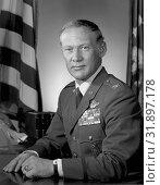 USA -- circa 1985 -- Col. Edwin E. 'Buzz' Aldrin, Jr. Aldrin was lunar module pilot for Apollo XI, July 16-24, 1969--the first manned lunar landing mission... Редакционное фото, фотограф Jonathan William Mitchell / age Fotostock / Фотобанк Лори