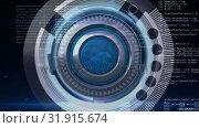 Купить «Digital composite of a signal icon, focusing camera lens and random digital codes», видеоролик № 31915674, снято 6 февраля 2019 г. (c) Wavebreak Media / Фотобанк Лори