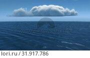 Calm ocean. Стоковое видео, агентство Wavebreak Media / Фотобанк Лори