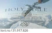Купить «Holy bible and the crucifix», видеоролик № 31917826, снято 13 февраля 2019 г. (c) Wavebreak Media / Фотобанк Лори