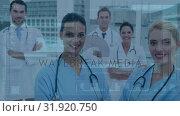 Купить «Medical doctors and nurses», видеоролик № 31920750, снято 5 марта 2019 г. (c) Wavebreak Media / Фотобанк Лори