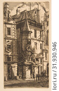 Купить «House with a Turret, rue de la Tixéranderie, Paris, 1852, Etching on laid paper, third state of five, plate: 9 11/16 x 5 3/16 in. (24.6 x 13.1 cm), Prints, Charles Meryon (French, 1821–1868)», фото № 31930946, снято 22 апреля 2017 г. (c) age Fotostock / Фотобанк Лори