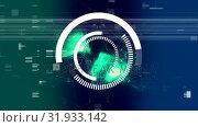 Купить «Visor focusinwith sizzle effect aginst green light effect», видеоролик № 31933142, снято 5 марта 2019 г. (c) Wavebreak Media / Фотобанк Лори