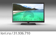 Купить «HD television», видеоролик № 31936710, снято 25 апреля 2019 г. (c) Wavebreak Media / Фотобанк Лори