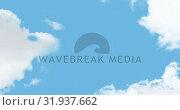 Купить «Clouds in the sky 4k», видеоролик № 31937662, снято 30 апреля 2019 г. (c) Wavebreak Media / Фотобанк Лори