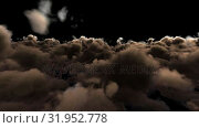 Купить «Storm with grey clouds moving in sky», видеоролик № 31952778, снято 18 июня 2019 г. (c) Wavebreak Media / Фотобанк Лори