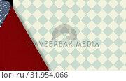 Купить «Wallpaper opening to reveal old wallpaper below», видеоролик № 31954066, снято 8 июля 2019 г. (c) Wavebreak Media / Фотобанк Лори