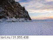 Купить «Lake Baikal in winter», фото № 31955438, снято 3 марта 2017 г. (c) Юлия Белоусова / Фотобанк Лори