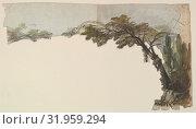 Купить «Design for a Stage Set, 1830–90, Drawings, Eugène Cicéri (French, Paris 1813–1890 Fontainebleau)», фото № 31959294, снято 26 апреля 2017 г. (c) age Fotostock / Фотобанк Лори