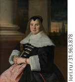 Portrait of a Woman, ca. 1650, reworked probably 18th century, Oil on canvas, 39 3/8 x 32 1/4 in. (100 x 81.9 cm), Paintings, Frans Hals (Dutch, Antwerp... (2017 год). Редакционное фото, фотограф © Copyright Artokoloro Quint Lox Limited / age Fotostock / Фотобанк Лори