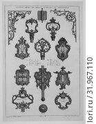 Morceaux de Caprice (1er - 20ième Livre) (Sammelwerk, 2. Reihe), 1745–56, Engraving, 17 1/2 x 11 13/16 x 1 9/16 in. (44.5 x 30 x 4 cm), Books, FranÃ... (2017 год). Редакционное фото, фотограф © Copyright Artokoloro Quint Lox Limited / age Fotostock / Фотобанк Лори
