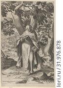 Купить «St Dominic Reading, 1573, Engraving, Sheet: 13 11/16 × 8 1/2 in. (34.7 × 21.6 cm), Prints, Cornelis Cort (Netherlandish, Hoorn ca. 1533–1578 Rome)...», фото № 31976878, снято 27 апреля 2017 г. (c) age Fotostock / Фотобанк Лори