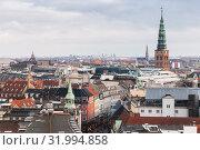 Купить «Copenhagen cityscape, Denmark», фото № 31994858, снято 10 декабря 2017 г. (c) EugeneSergeev / Фотобанк Лори