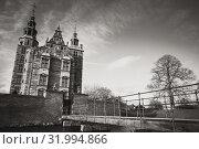 Купить «Rosenborg, renaissance castle, Copenhagen», фото № 31994866, снято 10 декабря 2017 г. (c) EugeneSergeev / Фотобанк Лори