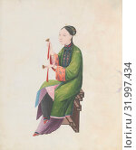 Купить «Watercolor of musician playing bo, late 18th century, China, Chinese, Watercolor on paper, Overall: 43.2 x 35.6 x 1.3cm (17 x 14 x 1/2in.), Works on Paper», фото № 31997434, снято 29 апреля 2017 г. (c) age Fotostock / Фотобанк Лори