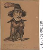 Купить «Caricature (Jean Baptiste Chollet?), 19th century, Black, red, and white chalk, sheet: 10 9/16 x 8 3/8 in. (26.8 x 21.2 cm), Drawings, Anonymous, French, 19th century», фото № 32002550, снято 22 апреля 2017 г. (c) age Fotostock / Фотобанк Лори