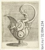 Купить «Jug in the form of a snail shell, Balthazar van den Bos, Cornelis Floris (II), Hieronymus Cock, 1548», фото № 32004234, снято 27 ноября 2014 г. (c) age Fotostock / Фотобанк Лори