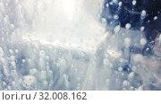 Купить «The lathe with the CNC worm couple processes a cutter a steel detail of type. In processing of a detail cooling liquid is used», видеоролик № 32008162, снято 7 августа 2009 г. (c) Куликов Константин / Фотобанк Лори