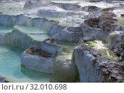 Купить «Egerszalok salt hill, Hungary», фото № 32010698, снято 28 октября 2017 г. (c) Яков Филимонов / Фотобанк Лори