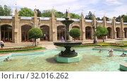 Купить «Кисловодск, Нарзанная галерея», видеоролик № 32016262, снято 10 июня 2019 г. (c) Валерий Шилов / Фотобанк Лори