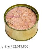 Купить «Tuna preserves in oil», фото № 32019806, снято 19 августа 2019 г. (c) Яков Филимонов / Фотобанк Лори