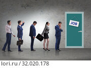 Recruitment concept with business people. Стоковое фото, фотограф Elnur / Фотобанк Лори