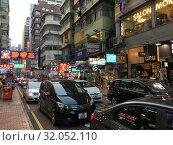 Купить «Hong Kong evening traffic», фото № 32052110, снято 17 сентября 2017 г. (c) Александр Подшивалов / Фотобанк Лори