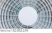 Fan with protection. Стоковое видео, видеограф Потийко Сергей / Фотобанк Лори