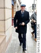January 25, 2013 Warsaw, Poland. Pictured: Antoni Macierewicz. Редакционное фото, фотограф Andrzejewski Maciej / age Fotostock / Фотобанк Лори