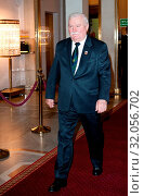 June 11, 2012 Warsaw, Poland. `Teraz Polska` Gala. Pictured: Lech Walesa. Редакционное фото, фотограф Brykczynski Donat / age Fotostock / Фотобанк Лори