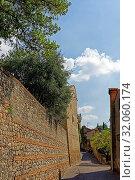 Casa Petrarca. Стоковое фото, фотограф Bernd J. W. Fiedler / age Fotostock / Фотобанк Лори